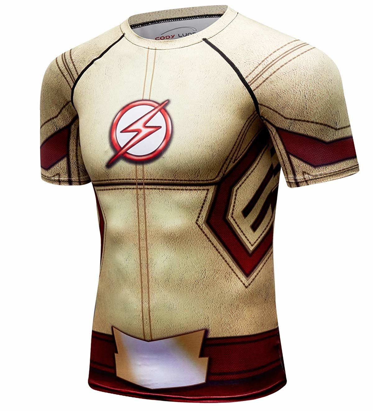 the flash baseball shirt