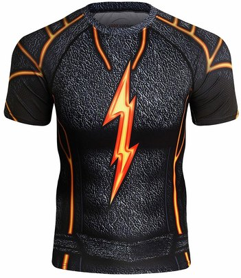 the flash running shirt