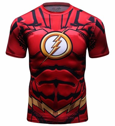 kid flash t shirt
