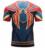 avengers infinity war spiderman print tee