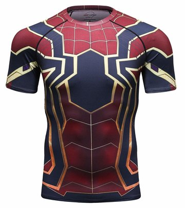 avengers infinity war spiderman t shirt