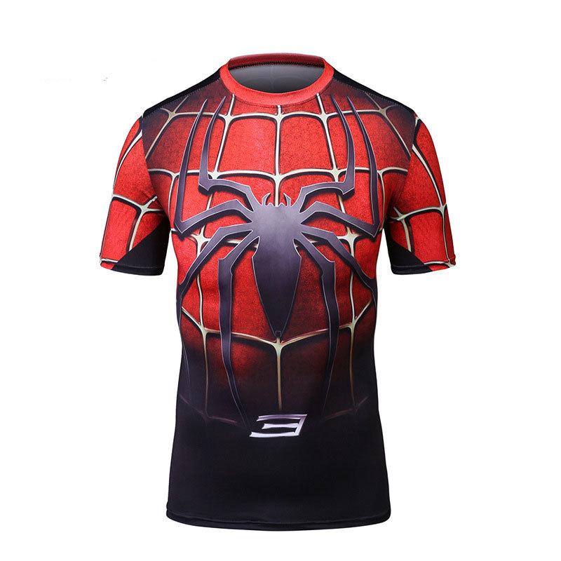 Dri Fit Spiderman Compression Shirt