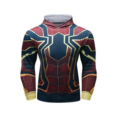 marvel spider-man cosplay hoodie