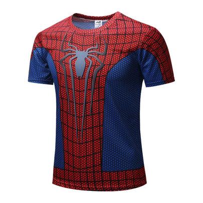 marvel Spider Man gym t shirt