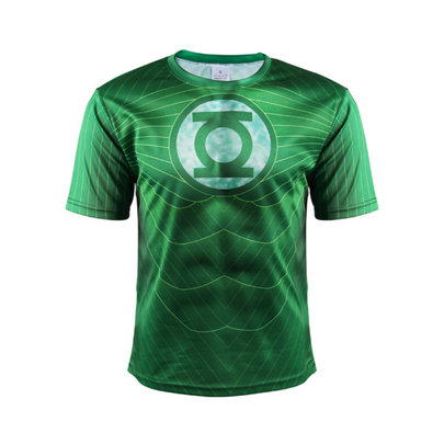short sleeve dc comics green lantern t shirt