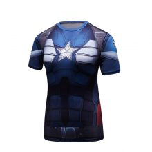 Navy Blue Captain America