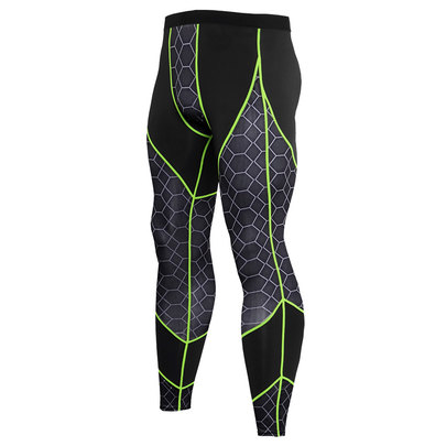 men's yoga exercise pants green