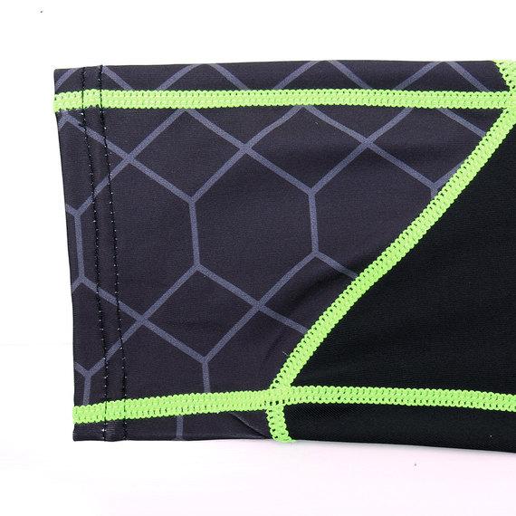slim fit green athletic pants mens