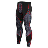 red long exercise pants