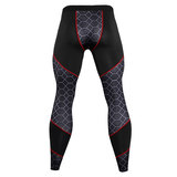 men's exercise pants lightweight red