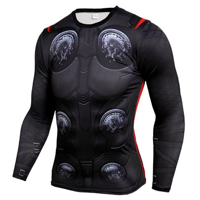 dri fit long sleeve thor compression shirt