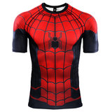 dri fit Spider Man Far From Home T Shirt For workout