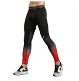 mens red workout pant