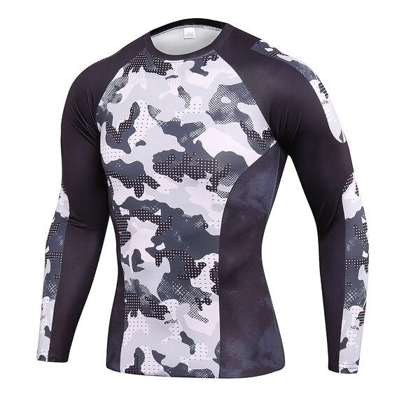 men's long sleeve workout shirts & leggings for workout