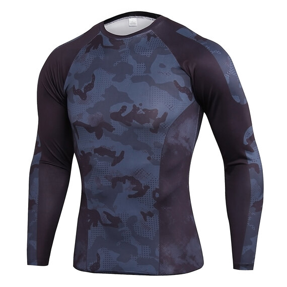 men's long sleeve best fitting gym shirts & seamless workout leggings
