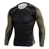 men's long sleeve gym shirts & sports leggings