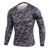 long sleeve mens muscle fit gym t shirts & activewear leggings camo