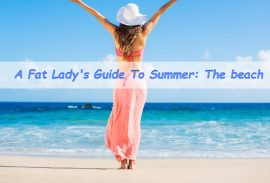 How to Dress For the Beach If You're overweight