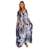 Women's Swimsuit Cover Up Plus Size Summer Beach Vacation Dress,Free Size
