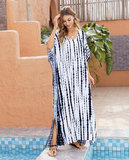 Women's Summer Beach Vacation Swimsuit Cover Up Plus Size Sun Dresses Long,Free Size