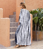 Ladies Summer Beach Vacation Swim Cover Up Plus Size beach wear Long,Free Size