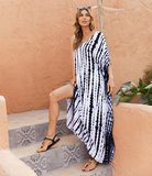 Ladies Summer Beach Vacation Swimsuit Cover Up Plus Size Sun Dresses Long,Free Size
