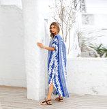 Women's Plus Size Beach vacation Bikini Cover Up maxi sun dresses long,Free Size