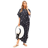 Swimwear Cover Up For Ladies Plus Size Summer Vacation Beach Outfits Long,Unisize