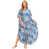 Women's Bikini Cover Up Plus Size beach vacation dresses,Free Size