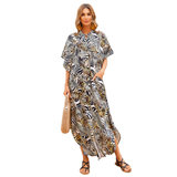 Women's Plus Size Summer vacation Beach Cover Up maxi sun dresses,Free Size