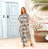 Beach Cover Up For Women's Plus Size Below knee length dresses,One Size Fit All