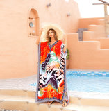 Ladies Swimwear Cover Up Plus Size beach vacation dresses,Free Size