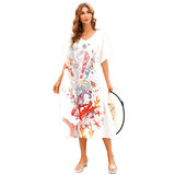 Ladies Beach Cover Up Plus Size For Summer Vacation Beach Romper,One Size Fit All