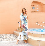 Swimsuit Cover Up For Women's Summer Vacation Resort Dresses Plus Size Beachwear,Free Size