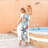 Beach Cover Up For Women's Summer Vacation Resort Dresses Plus Size Beach outfits,Free Size