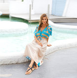 Swimwear Cover Up For Ladies Summer Vacation dresses and rompers Plus Size Beachwear,Unisize