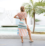 boho summer maxi dresses Ladies Beach Cover Up,One Size Fit All