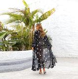 Plus Size Swimsuit Cover-up Ladies Chiffon Casual Summer Restore Dresses,Unisize