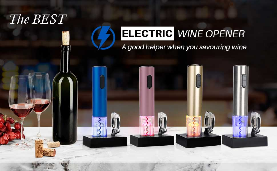 Automatic Electric Wine Opener