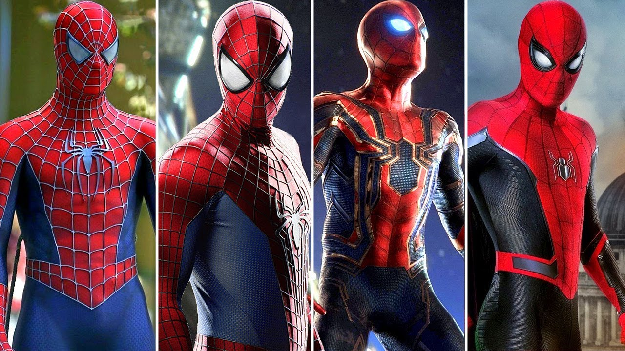 The Top 5 Spider-Man's Suits