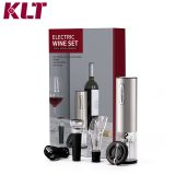 Rechargeable Cordless Stainless Steel Electric Wine Bottle Opener Gifts Set