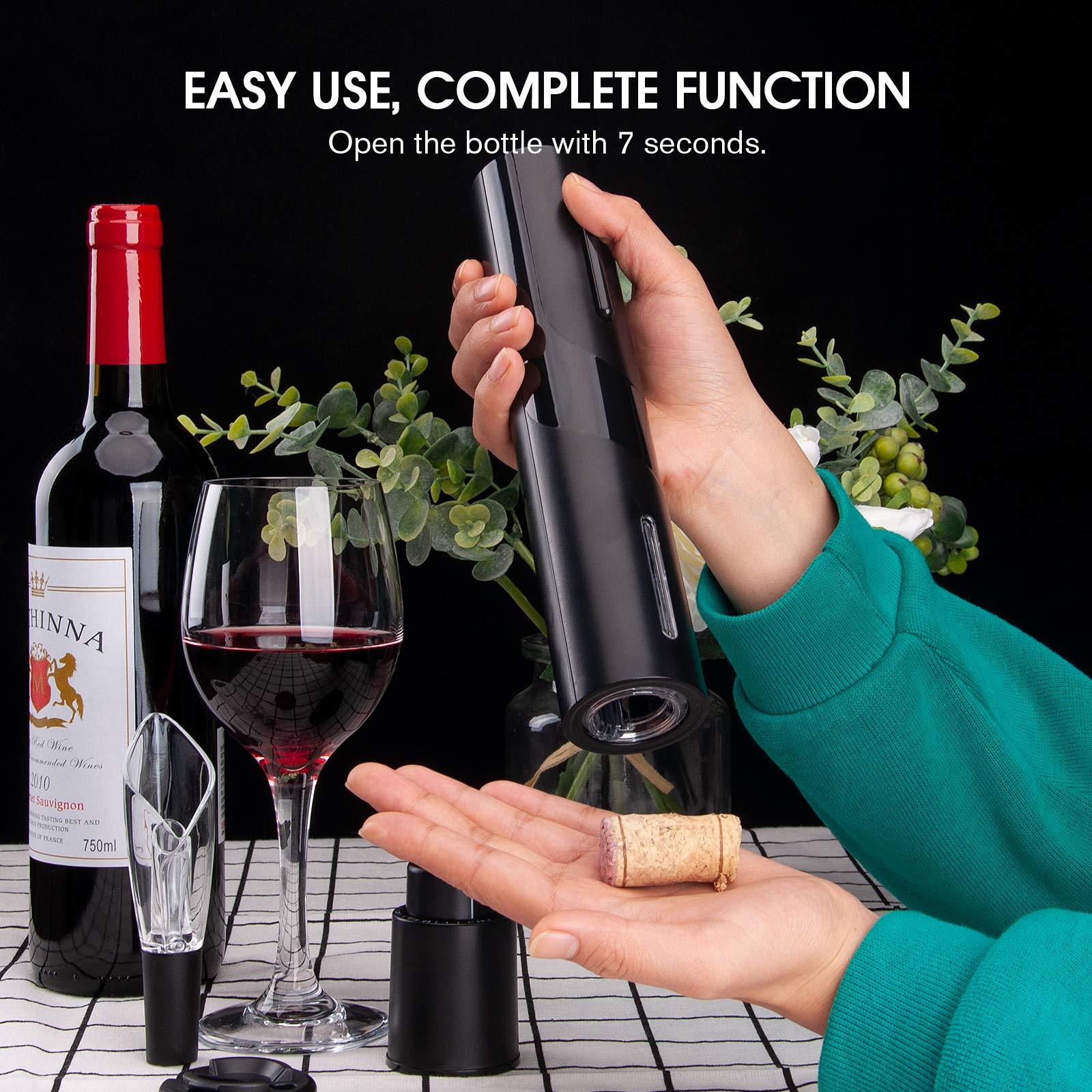 easy use electric bottle opener
