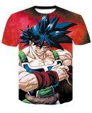 short Sleeve Anime dragon ball z compression shirts kids