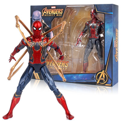 """Marvel Ultimate Spider-Man 6"""" Collectible Die-Cast Figure"""