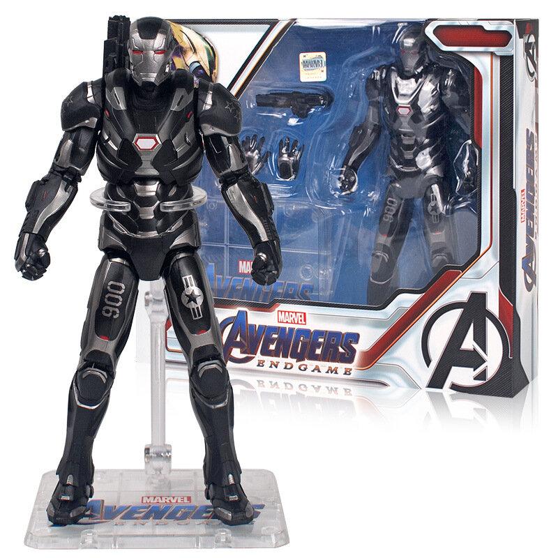 Black Iron Man Action Figure Toy Marvel Avengers Endgame