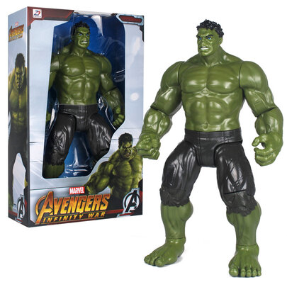 14-inch-Scale Hulk Action Figure Toy for marvel avenger fans with gift box