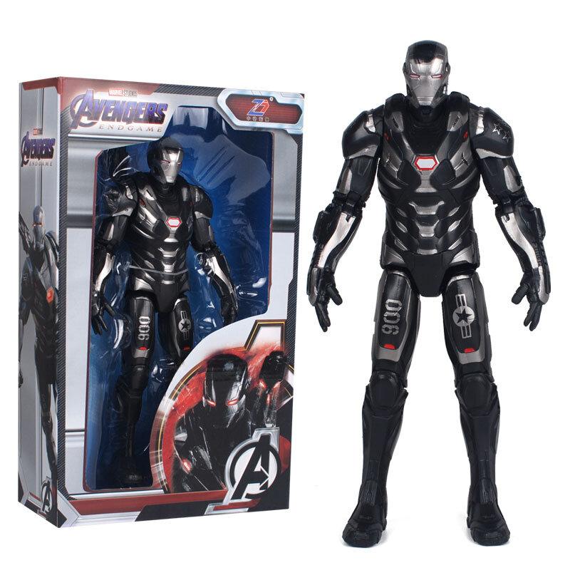 7-inch Black Iron Man Action Figure Marvel Avenger
