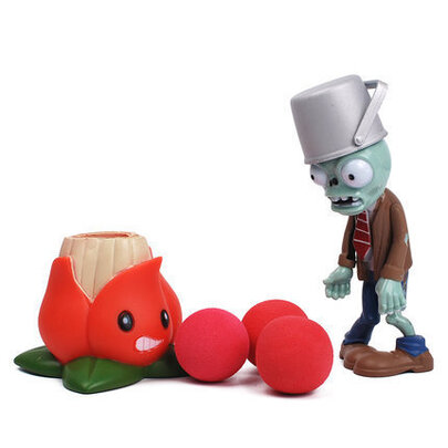 Plants VS Zombies Akee Action Figure Toy PVC