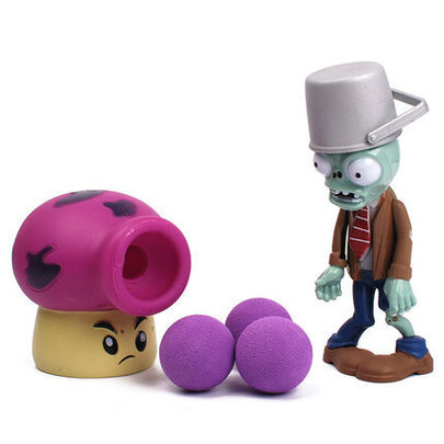 Fume Shroom Plants VS Zombies PVC Action Figure Toy for childrens