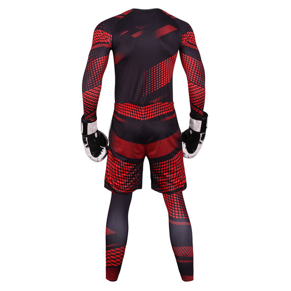 3 in 1 fitness sweat suits for mens Black Red